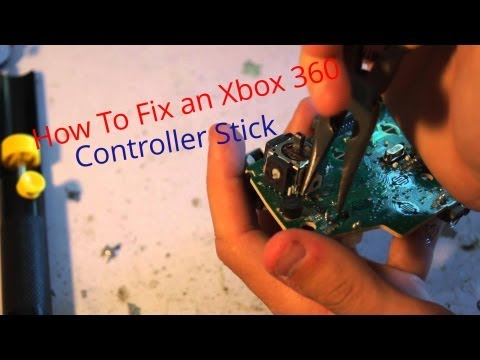How To Repair Xbox 360 Controller JoyStick