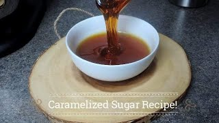 Caramelized Sugar Recipe! (Perfect for Puddings, Flans & More) | Ep #161