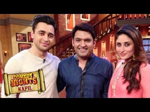 Kareena Kapoor & Imran Khan on COMEDY NIGHTS WITH KAPIL 10th November 2013