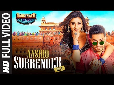 Aashiq Surrender Hua  Full Video Song  | Varun, Alia | Amaal Mallik, Shreya | Badrinath Ki Dulhania