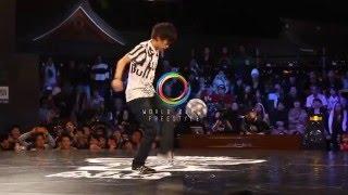 Kotaro Tokuda - Freestyle Football Japan 2016 - Amazing Freestyle Soccer Show in Tokyo