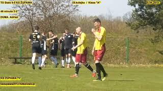 """TS Stale - KS Żupawa (2-2 Duma Adrian) 20.04.2019 Klasa """"A"""""""
