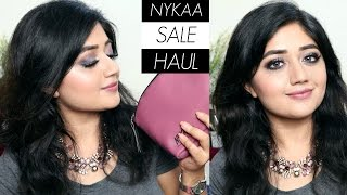 HAUL: Nykaa January Sale
