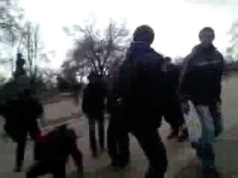 US backed Nazi group fight in Ukraine