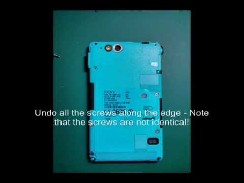 Xperia Go Digitizer Glass Repair