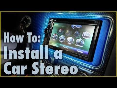 How To Install a Car Stereo (Single & Double DIN)   Car Audio 101