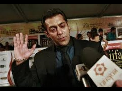 Salman Khan hits a journalist