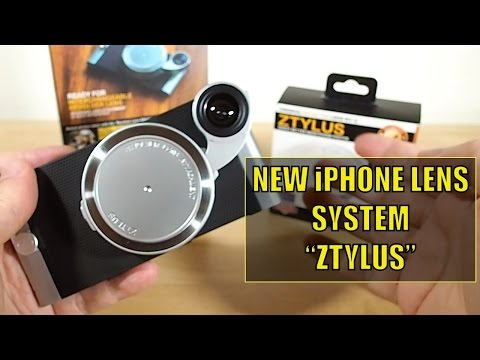 Nifty New iPhone LENS System - Ztylus Review