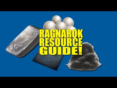 RAGNAROK RESOURCE GUIDE! (How Not To Be A Noob) - Ark:Survival Evolved