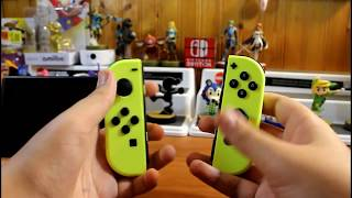 UNBOXING NEW NEON YELLOW JOY CONS AND ARMS FOR NINTENDO SWITCH!!!
