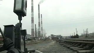 Луганскую ТЭС вновь обстреляли - (видео)