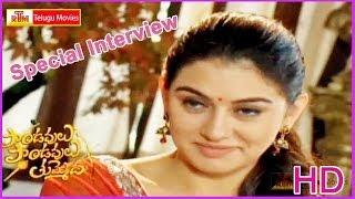 Pandavulu - Latest Telugu Movie - Pandavulu Pandavulu Thummeda - Special Interview With Hansika (HD)