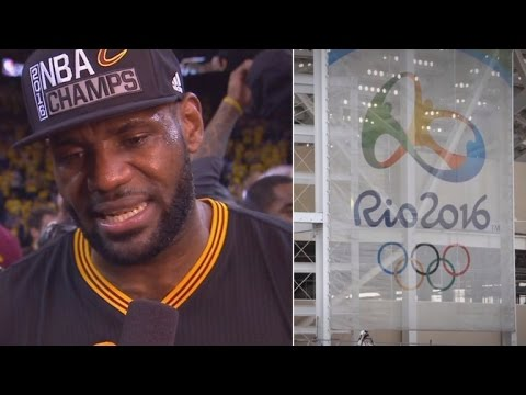 LeBron James Insists That Zika Virus Isn't To Blame For Skipping Rio Olympics