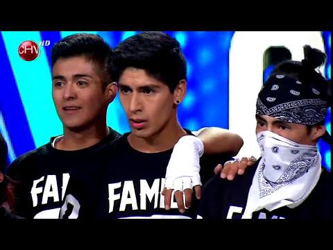 Power Peralta Family logró impresionar al jurado del programa - TALENTO CHILENO 2014