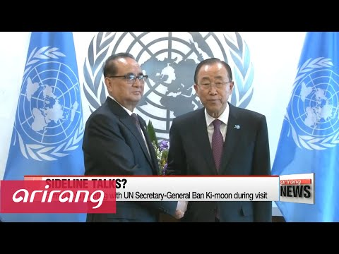 N. Korean foreign minister to sign climate deal at UN next week