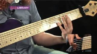 bass lessons basic tapping techniques by dan veall
