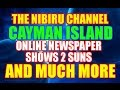 CAYMAN ISLAND NEWS ARTICLE SHOWS 2 SUNS AND MORE!