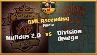 GML Finale   Nulldus 2.0 vs Division Omega   Clash of Clans deutsch live