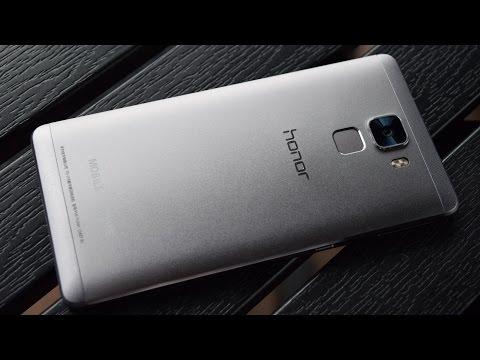 Huawei Honor 7: предварительный обзор (preview)