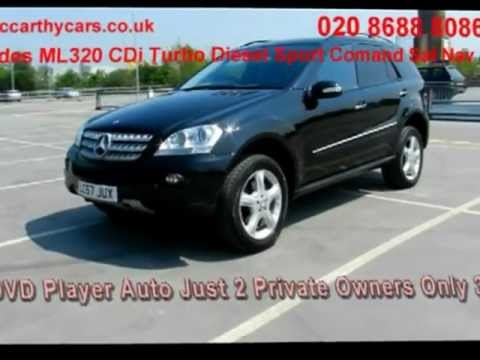 Mercedes ML320 CDi Turbo Diesel Sport Comand Sat Nav LC57 McCarthy Cars