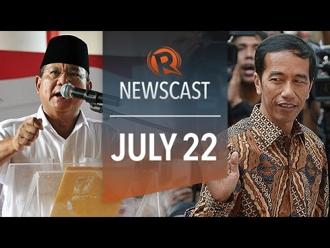 Rappler Newscast: Prabowo protests, Jokowi leads tallies, MH17 bodies