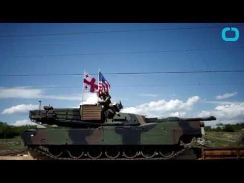 latest news U S  Taunts Russia With Tank