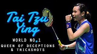 Tai Tzu Ying Best Skills 2018 | Queen of Deceptions | World No. 1 | Rallies, Deceptions & Trickshots