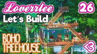 Boho Treehouse (Let's Build in the Sims 4 #26)