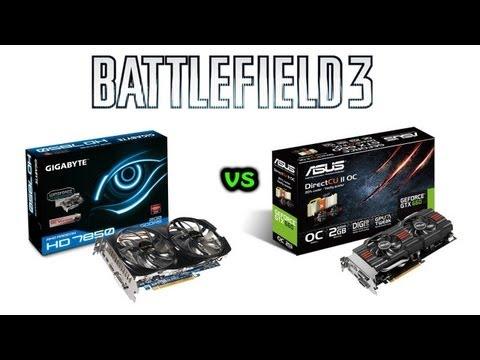 Battlefield 3 - Radeon HD 7850 vs GeForce GTX 660