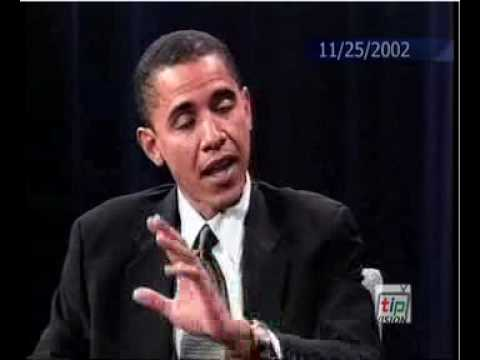 2002 Barack Obama Interview: Against Iraq