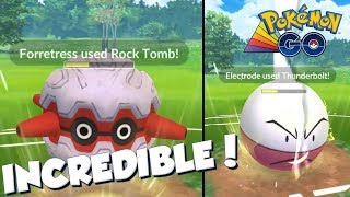 FORRETRESS IS INCREDIBLE! Pokemon GO PvP Rainbow Cup Great League Matches