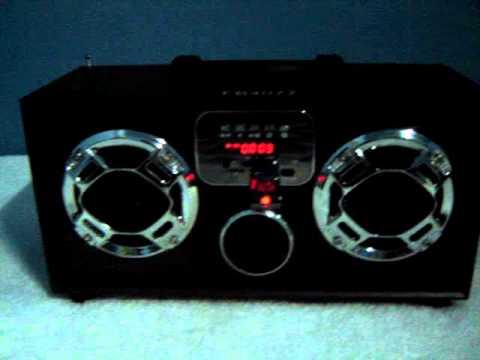 Reproductor Mp3/usb/msd/aux/radio Fm Portatil Recargable FB4077