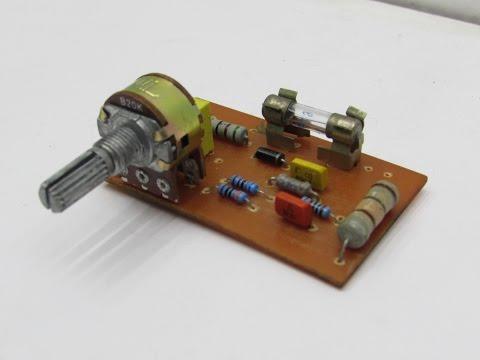 Простое зарядное устройство для Автомобильного аккумулятора своими руками