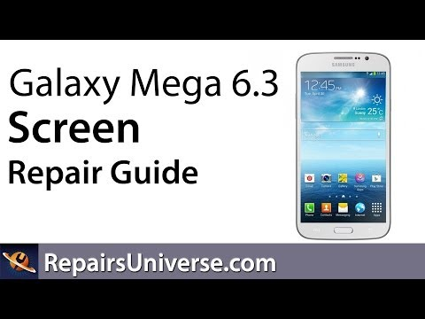 Samsung Galaxy Mega 6.3 Screen Replacement Repair Guide