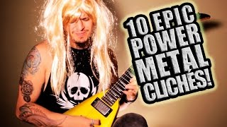 10 POWER METAL CLICHES