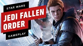26 Minute Star Wars Jedi Fallen Order Full E3 Gameplay Demo in 4K