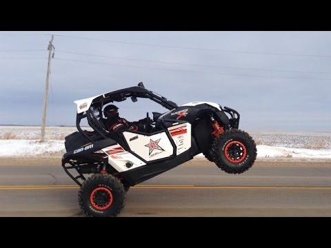 Can Am Maverick White Lifted