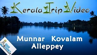 """kerala Tourism video """" Munnar, alleppey and Kovalam"""""""