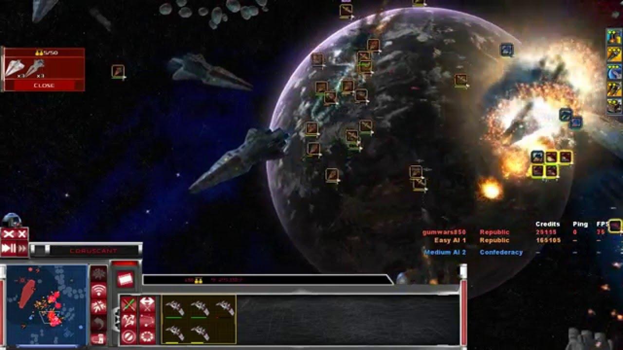Star Wars Republic at War Map Star Wars Republic at War The