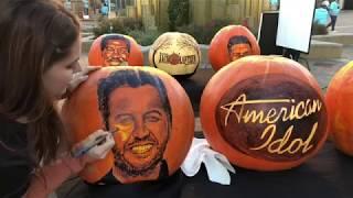 Katy Perry, Luke Bryan & Lionel Richie Get Turned Into Halloween Pumpkins - AMERICAN IDOL