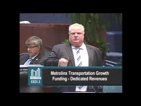 Watch Rob Ford and Karen Stintz's Toronto council showdown