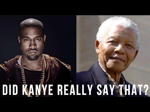Kanye West blasts FAKE Nelson Mandela interview