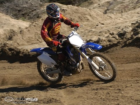 Yamaha YZ450F - 2008 450 Motocross Shootout Video