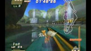 Sonic Riders - Splash Canyon (Tails - Grinder)