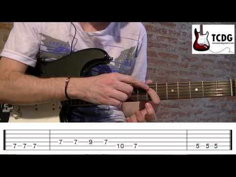 Como tocar Otherside (Red Hot Chili Peppers) Tutorial de guitarra TCDG
