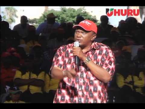 Hon. Uhuru Kenyatta's Speech at the Jubilee Coalition Launch