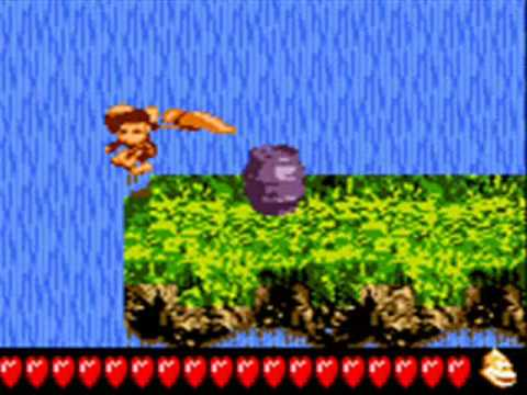 Donkey Kong Land 3 - Footloose Falls