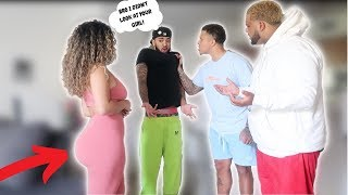 I CAUGHT MY BESTFRIEND CHECKING OUT MY GIRLFRIEND!! ** EXPOSED!! **