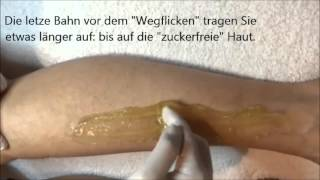 Hairexpil - Sugaring-Tutorial | deutsch