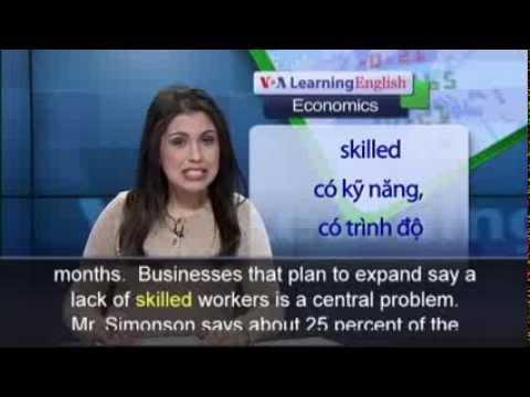 Anh ngữ đặc biệt: NABE Business Survey (VOA-Ec Rep)